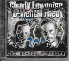 CHARLY LOWNOISE & MENTAL THEO - Old school Hardcore CD Album 17TR Gabber 1996