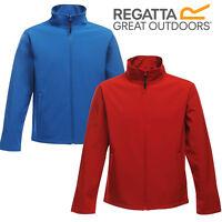 Regatta Mens Print Perfect Softshell Jacket Water Repellent Wind Resistant New