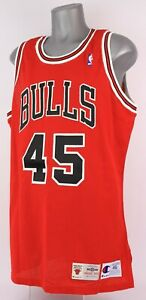 Michael Jordan 1994-95 Game Worn Chicago Bulls 45 Jersey LOA No Provenance/wear