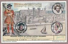 Tower Of London England Prison History Jail Queen 50+ Y/O Trade Ad Card