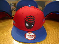 The Amazing Spider-Man Snapback Marvel Comics New Era Hat SM-MED NWT 0306 Face