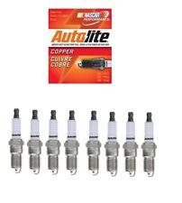 8 x SPARK PLUGS - AUTOLITE COPPER - LINCOLN NAVIGATOR 5.4L V8 1999-2004