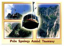Palm Springs Aerial Tramway Postcard New Rotating Cars Mt San Jacinto Valley