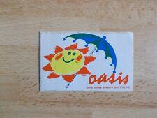 Autocollant vintage boisson OASIS