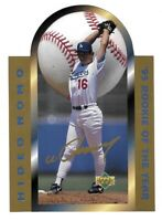 1996 Upper Deck Hideo Nomo Rookie Of The Year Limited Edition Die Cut SP /5000