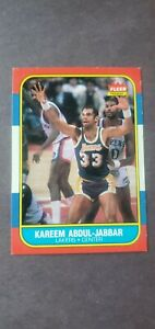 1986 Kareem Abdul Jabbar #1 Fleer