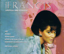 """Connie Francis Triology """" Lipstick and Powder """" 3 Cd-Box New & OVP Tim 2001"""