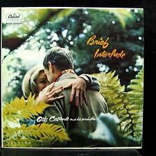 OTTO CESANA brief interlude LP VG+ T-1032 Mono Capitol Vinyl 1958 Record