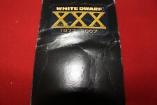 Games Workshop Warhammer White Dwarf XXX Anniversary Boxed Set 1977 2007 30 Year