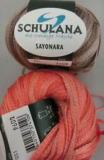 Schulana Sayonara 50 G Farbe 51 Lachs/braun 100 Seide