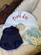 """New listing Terri Lee Doll Swimsuit Clothing Tagged And Swimming Ring Inflates for 16"""" Doll"""