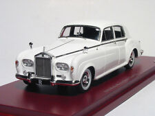 1963 Rolls-Royce Silver Cloud III in White in 1:43 True Scale Miniatures