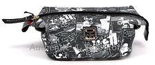 Disney Dooney & Bourke Mickey Minnie Negative Comic Strip Cosmetic Pouch Bag #6