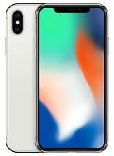 Apple iPhone X 64GB Silver, AT&T/T-Mobile GSM Unlocked 4G LTE IOS- No FACE ID