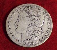 1899 S MORGAN SILVER DOLLAR #10884 $ NICE COIN RARE KEY DATE ESTATE