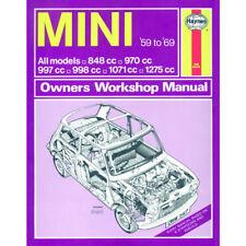 Mini 0.9 1.0 1.1 1.3 Petrol 1959-69 up to H Reg Haynes Manual Classic Reprint