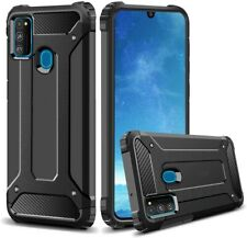 For Samsung Galaxy M21 Case Hard Armour Cover Shockproof Heavy Duty Rugged