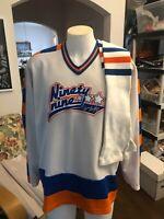 Wayne Gretzky Jofa Jersey vintage XL Mens and Edmonton leg sleeves Hockey