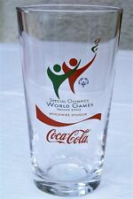 Coca Cola Coke Special Olympics World Games 2003 Glass. UK IRELAND New