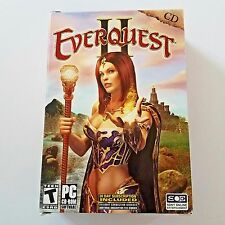 Everquest II PC CD-ROM Computer Software Game Teen Rated Complete Set Of 5 Discs