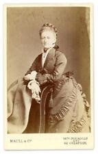 Mrs Williams (nee Roberts) on cdv by Maull & Co of Piccadilly & Cheapside London