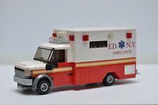 LEGO Ambulance City EMT Medic Truck New York City Custom Built Model