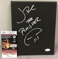 Jon Bernthal SIGNED 8x10 Canvas w/ JSA COA + PHOTO PROOF ~ Netflix Punisher
