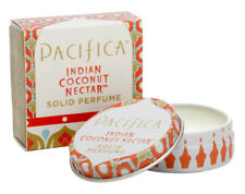 Pacifica Solid Perfume Tin 100% Natural & Vegan Scent INDIAN COCONUT NECTAR 10g