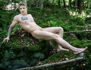 Handsome Male Nude Physique Gay Interest Original Photo Signed Limited Edition