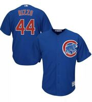 Anthony Rizzo Chicago Cubs Majestic Cool Base Jersey Blue #44 Mens M-2XL