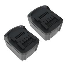 2x batería 14,4v 3000mah Li-ion reemplaza Metabo 625467 6254 58 625498 c-98116 Battery