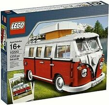 RARE!! NEW Sealed LEGO VOLKSWAGEN T1 CAMPER CAMPING VAN VW 10220 - RETIRED