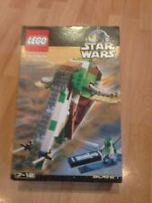 Vintage LEGO 7144 Star Wars Slave me retiré Ultra Raro conjunto de 2000