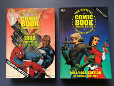 More details for the official comic book price guide for great britain 1990 edition & 1992 - 1993