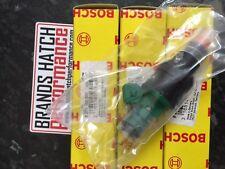 4x Ford RS Sierra Cosworth Bosch 803 Verde Scuro Iniettori 0280150803 - NUOVO