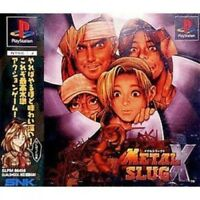 UsedGame PS1 PS PlayStation 1 Metal Slug X from Japan