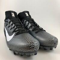Nike Vapor Untouchable 2 Football Cleats Men's Size 12 Black Grey