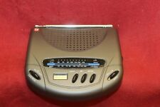 VINTAGE TV GUIDE AM/FM LCD CLOCK RADIO ~ WORKS ~ NEEDS BATTERIES