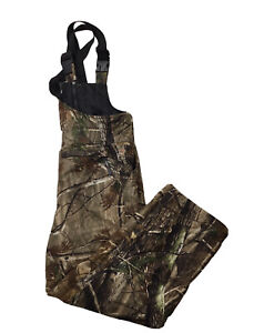 Youth Field & Stream Insulated Overalls Size Large Real Tree
