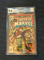 Captain Marvel #49 CGC 9.6 (Marvel 1977) Ronan, Kree Sentry, Cheetah appearance