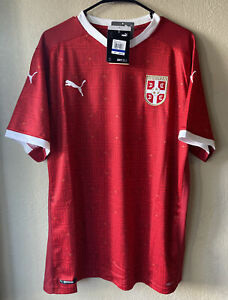 Puma Serbia 20/21 Home Soccer Jersey Size S
