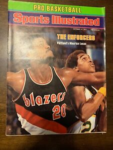 Sports Illustrated - Maurice Lucas - October 31, 1977 -(M14A)