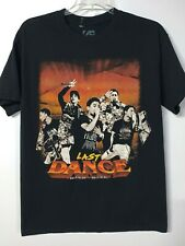 Big Bang K-Pop Mens Size MEDIUM Last Dance 2017 Concert T-Shirt Unisex Black
