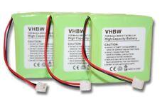 3 x original vhbw® AKKU für MEDION Life GPHP70-R05