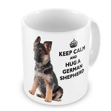 Keep Calm And Hug A German Shepherd Coffee / Tea Mug