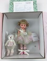 "Madame Alexander Twinkle Toes 8"" Ballerina Doll and Bear 36905  Original Box"