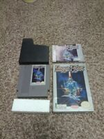 Image Fight NES Nintendo Complete in box 100% authentic TESTED