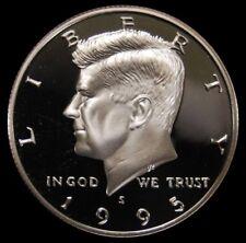 1995 S Kennedy Half Dollar Gem Deep Cameo Clad PROOF US Mint Coin
