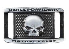 """Harley-Davidson cinturón """"Crackle"""" cuero cinturón * 97658-16vm/3400 * talla 34 Inch"""