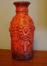 Carstens Tönnishof Keramik Vase 7302 Fat Lava Ceramics Pottery Vase WGP red